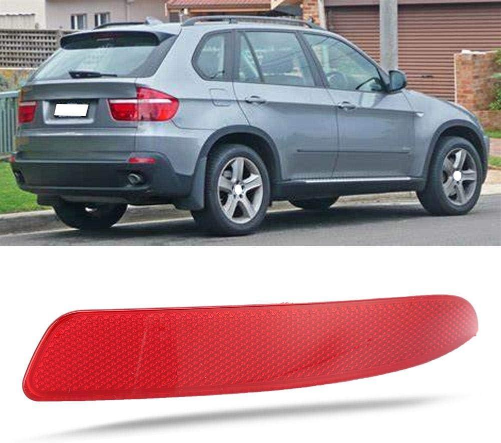 Rear left 63217158949 Gorgeri Rear Bumper Reflector,Red Rear Bumper Reflector Part 63217158949 63217158950 Fit for E70 X5 2007-2013