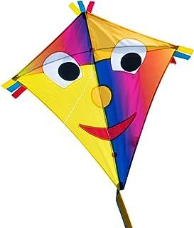 CIM Cometa de una Cuerda - Happy Eddy Joker - por niños con Edad a Partir de 3 años - 67x70cm - Cordón y Cola de la Cometa incluidos