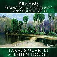 Brahms: String Quartet, Op. 51 No. 2; Piano Quintet, Op. 34 (2007-11-13)