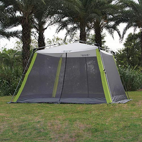 TENT Automatic Ultralarge 300 * 300 * 210cm 5-8 Person Use Camping Sun Shelter Beach Large Gazebo 8.6
