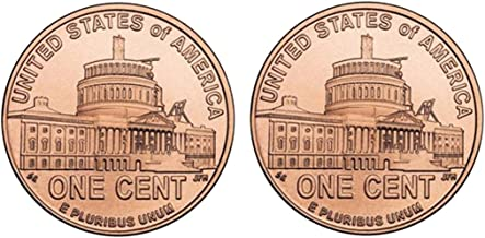 Jazzworks,LLC 2009 USA Coin Lincoln One Cent Penny The Presidency Cuff Links (115a)