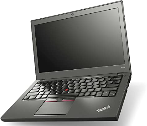 Lenovo ThinkPad X260 Laptop 12 5 Zoll HD Schwarz Intel Core i5-6300U 2 40 GHz GB RAM 240 GB SSD Webcam Windows 10 Professional Schätzpreis : 360,00 €