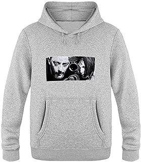 Leon Men's Pullover Fleece Hooded Sweatshirt
