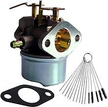 Dosens Carburetor Replacement for Tecumseh 640349 640052 640054 8hp 9hp 10hp LH318SA LH358SA HMSK80 HMSK90 Carb with Gasket & Carbon Dirt Jet Cleaner Tool Kit