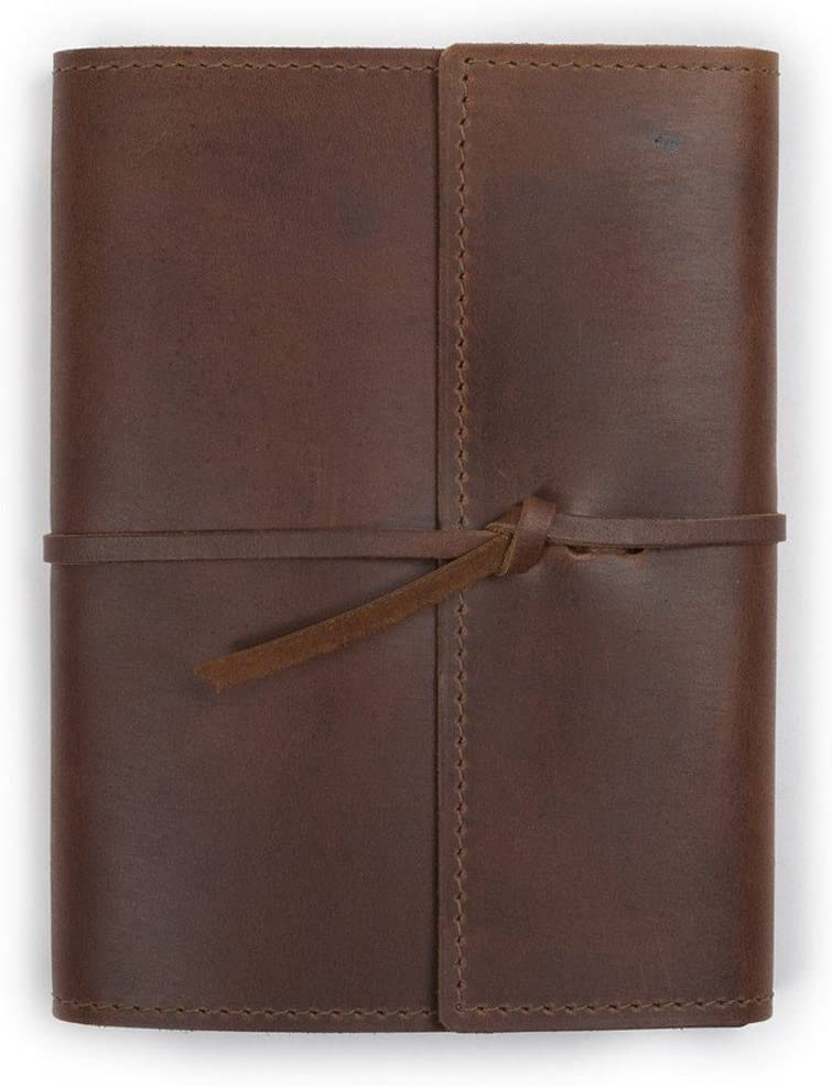 Large Leather Writers Log by Rustico half Closure Ranking TOP9 Style with Flap 6.