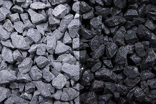 Kies Splitt Zierkies Edelsplitt Basalt 8-16mm Sack 20 kg
