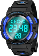 Tesoky Sports Digital Watch for Kids Waterproof Outdoor Children Casual Electronic Wrist Watches with Alarm Stopwatch - Best Gifts