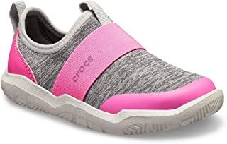 Crocs Kids' Swiftwater Easy-On Heathered Shoe