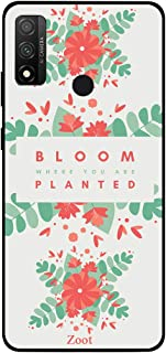 ZOOT Protective Printed Case Cover For Huawei P Smart 2020 Bloom Where You Are Planted,Thermoplastic Polyurethane Slim fit...