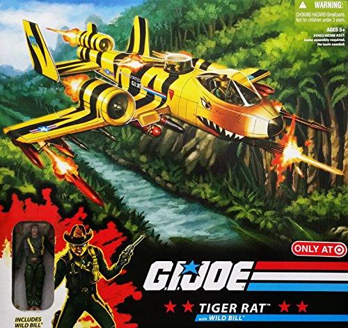 G.I. Joe 25th Anniversary Exclusive Tiger Rat VTOL Fighter Plane with Wild Bill...