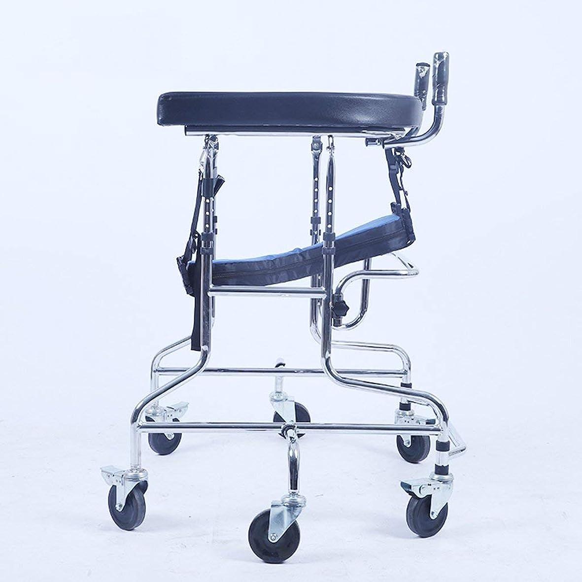 殉教者恨みピストル子供下肢トレーニング?リハビリ機器/リハビリ機器/スタンディングウォークスタンド/ウォークエイド/ウォーカー/スタンドホイール付きシートホイール(サイズ:C)