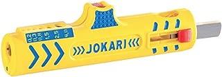 Jokari 30155 Super Stripper Secura for All Current Round Cables, No.15, 12.4cm L x 3.5cm W x 2.5cm H