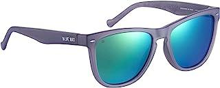 BLUE BAY Hardella, Occhiali da Sole per Uomo e Donna, Protezione UV 100%, Occhiali da Sole Realizzati con Materiale Ricicl...
