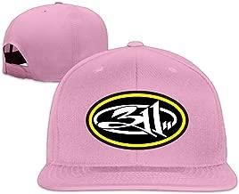 American Bat Man Rock Band 311 Fitted Flat Bill Baseball Hats