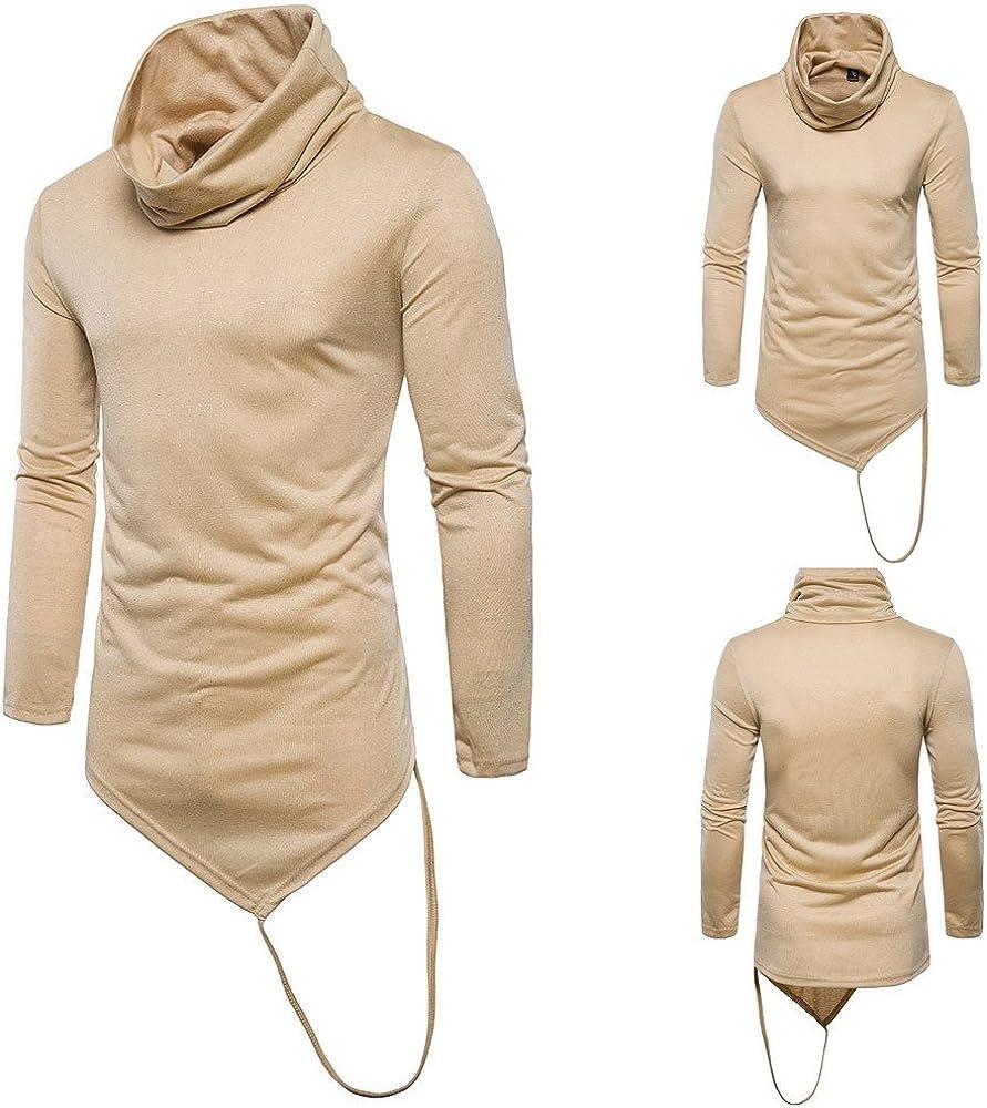 Men Pullover Hoodies,Vickyleb Mens Hipster Hip Hop Long Sleeve Slim Fit T Shirt Zipper Fashion Hoodies Sweatshirt