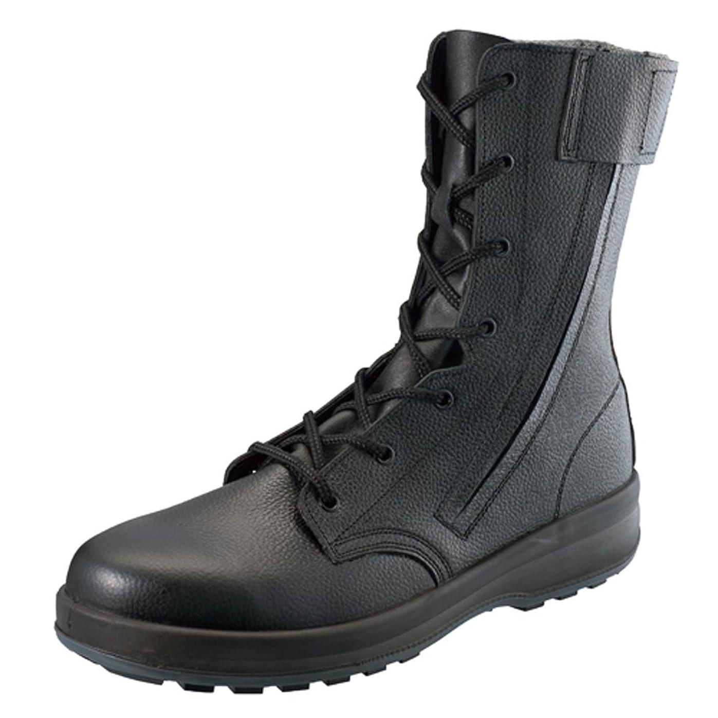 [シモン] 【WS33HiFR】長編上靴 防災用靴 耐滑性に優れる(F合格)踏抜き防止板内蔵