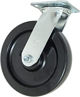 2 Wheel Width Duralast Polyurethane Wheel 9-1//2 Mount Height Roller Bearing 4 Plate Width 4-1//2 Plate Length 8 Wheel Dia 900 lbs Capacity Swivel Hamilton Thread Guard Plate Caster