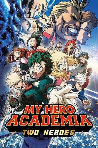LVQIANHOME Two Heroes Movie poster Rompecabezas, Anime De Dibujos Animados De Descompresión Puzzle, para Adultos Niños 1000 Piezas Juguetes De Descompresión (75x50cm)