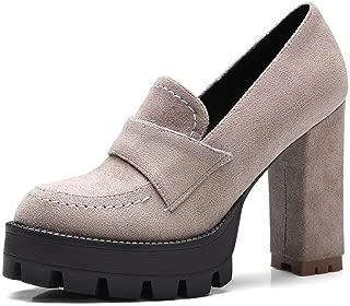 BalaMasa Womens Solid Casual Travel Urethane Pumps Shoes APL10847