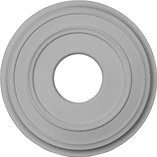 Ekena Millwork CM12CL Classic Ceiling Medallion, 12 3/8