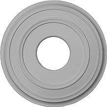 Ekena Millwork CM12CL 12 3/8-Inch OD x 4-Inch ID x 1 1/8-Inch Classic Ceiling Medallion