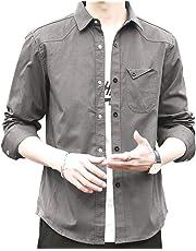 2019春夏秋冬 シャツ メンズ 長袖 半袖 カジュアル 無地 オックスフォード シャツ メンズ カジュアル コットン シャツ メンズ