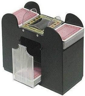 AF Automatic Playing Card Shuffler, Best Card Shuffler 6 Deck, Ideal For Blackjack-Poker Automatic Portable Card Shuffler,Battery Operated & Ebook Home Decor