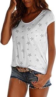 Mujer esCamisetas De Amazon esCamisetas Estrellas Amazon Estrellas Estrellas esCamisetas Amazon De De Mujer NOwXnk80P