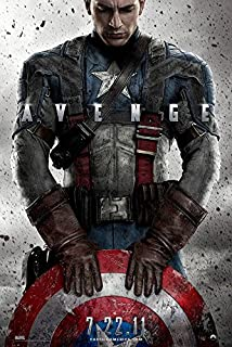 "Captain America (The First Avenger) - (24"" X 36"") Movie Poster"