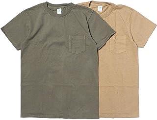 (ベルバシーン) VELVA SHEEN 2PAC CREW NECK POCKET TEE MILITARY PACK #2 ハンキードリー別注2枚組ポケットTシャツ