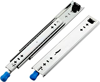 VADANIA Heavy Duty Drawer Slides, 14 Inch with Lock, Full Extension Ball Bearing, 1-Pair