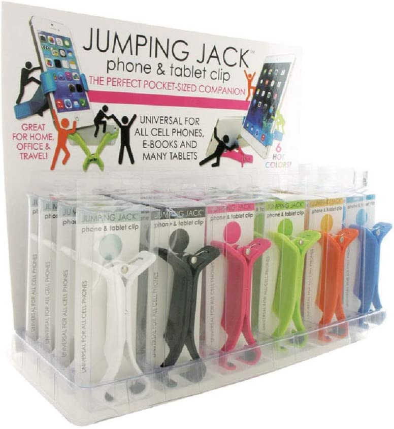 DM We OFFer at cheap prices Merchandising Jumping Jack PHONE Clip Max 52% OFF Tablet Phone ACCESSORY