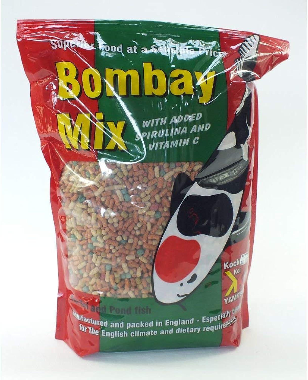 Kockney Koi Yamitsu Bombay Mix Floating Pellets Sticks Koi goldfish Fish Food 10kg