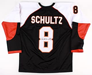 Dave Schultz Autographed Signed Philadelphia Flyers Jersey Inscribed The Hammer - JSA Certified