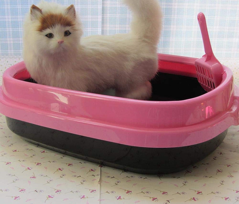 Axiba Pet toilet Cat Sand basin Economy cat toilet open litter shovel