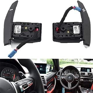 Bestycar Steering Wheel Gear Shift Paddles M3 Compatible for BMW 1 2 3 4 SERIES F20 F30 X3 X5 F15 X6