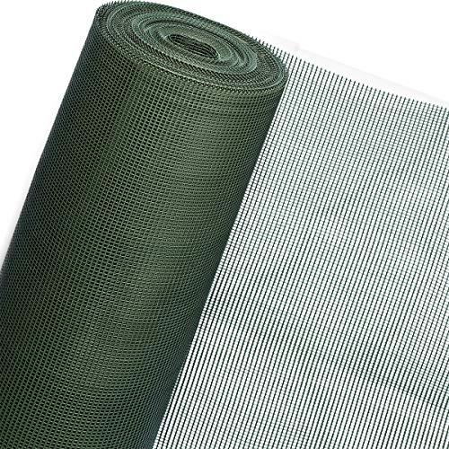HaGa® Zaun Kunststoffgitter Amphibienschutzzaun Windschutz 0,8m Höhe (Meterware)