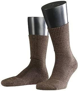 Falke Mens Walkie Light Midcalf Socks - Dark Brown