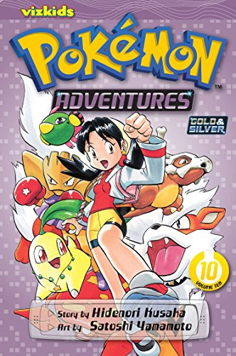 POKEMON ADVENTURES GN VOL 10 GOLD SILVER.