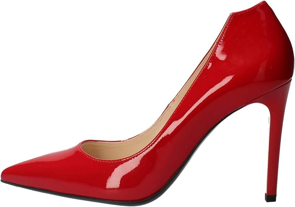 Nero giardini,décolleté,scarpe con il tacco a spillo per donna,in pelle vernice E011041DE