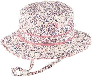 Mauve Baby Girls Reversible Bucket HAT Adalyn Size 0-12 Months