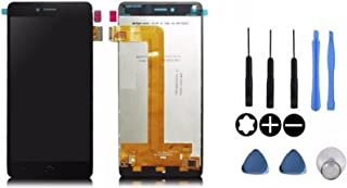 Theoutlettablet® Pantalla LCD Completa capacitiva con tactil digitalizador para Bq Aquaris U/Bq Aquaris U Lite + Herramientas - Color Negro