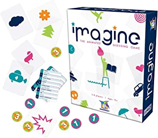 Imagine The Visual Charades Game Card Game