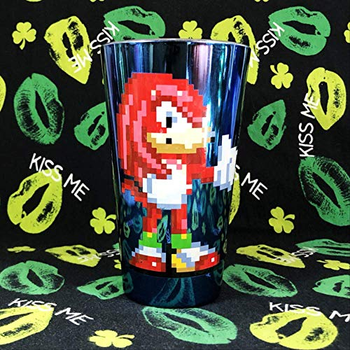 Zaag Game Cartoon Pixel hedgehog Sonic Boy Glass