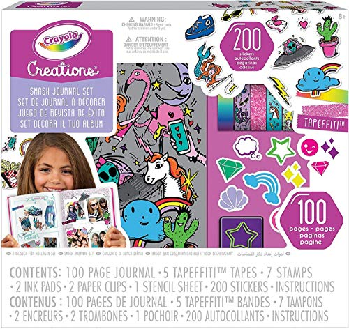 Crayola-04-0466 Agenda Creativa, Multicolor (04-0466)