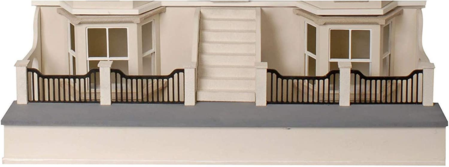 MJ04A Dolls House 1 12 Scale MDF Flat Pack Unpainted Basement Kit for MJ04