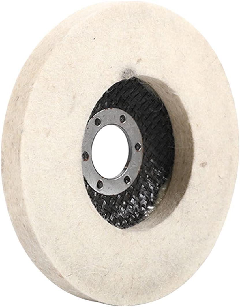 paritariny Polishing Buffing Wheel All items free shipping 125mm Wool 130mm 2021 model W