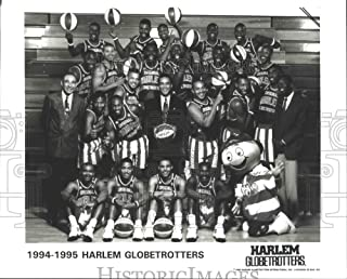 Historic Images - 1995 Press Photo Harlem Globetrotters Basketball Team
