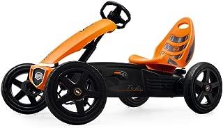 berg rally orange pedal kart