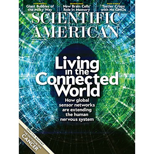 Scientific American, July 2014 audiobook cover art